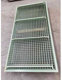 MALLA NIVEL DE ESTANTERIA IMEGUISA 2070 x 990 mm TRAVESAÑO 800 mm