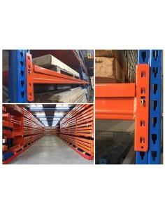 LARGUERO ESMENA DINAMICA 2C CENTRAL 80 X 40 X 1001 mm.para camada de 930 DPP 890