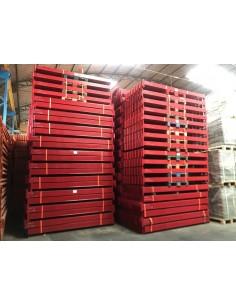 LARGUERO 2C PARA VELA 39/56 BITO DINAMICA 2500 x 120 x 50 mm PARA BLOQUE A