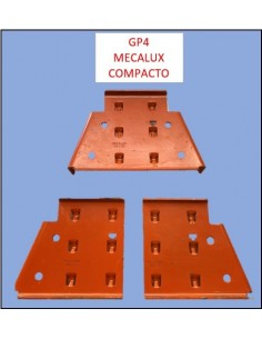 CARTELA GP4 IZQUIERDA 120/1400 mm MECALUX