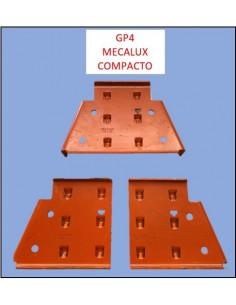 CARTELA GP4 IZQUIERDA 160/145 mm MECALUX