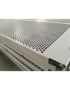 ESTANTE PARRILLA PERFORADA PARA NIVEL 1290x1610mm GRIS