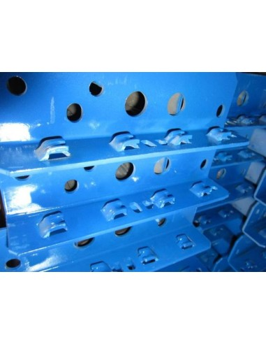 MALLA ANTICAIDA MECALUX SERIE M60 AZUL 1800 x 1210 x 35 mm