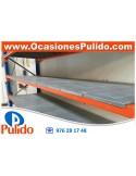 PISO ESTANTERIA ELECTROSOLDADA MALLA 22x42 TIPO TRAMEX 1495x885