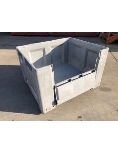 CAJON PLASTICO 700L. APILABLE 1200x1000x760mm